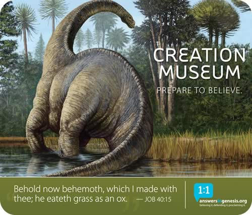 Creation Museum I Love You But You Re Going To Hell