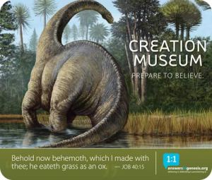 Image Source: Answers in Genesis Creation Museum