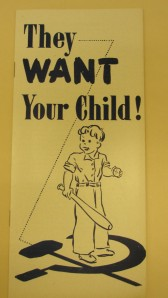 Allen Zoll, They Want Your Child! (New York: 1949)