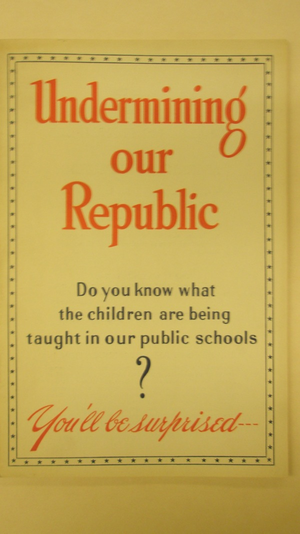 The 1941 report from the Guardians of American Education. Does Prof. Coyne really want to join this team?
