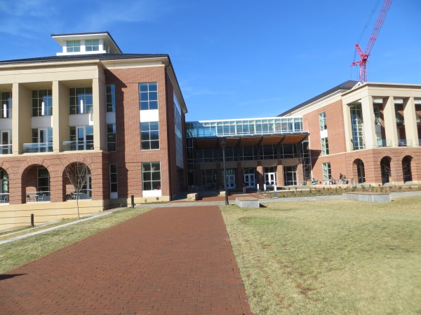 The new bajillion-dollar Jerry Falwell Library