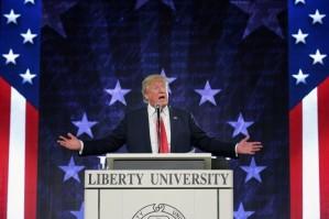 Trump at liberty
