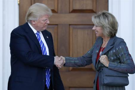 Trump and devos