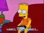 Bart reading bible