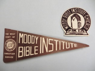 1940s MBI banner and patch