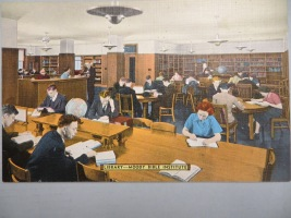 1940s postcard library