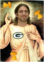 aaron rodgers jesus
