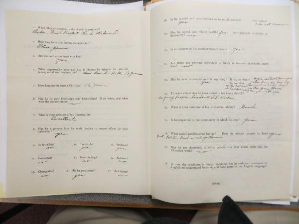 1930s application ref form