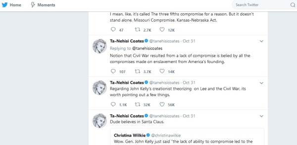 ta nahesi coates general kelly creationist tweet