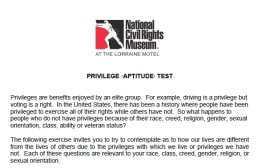 privilege test 1