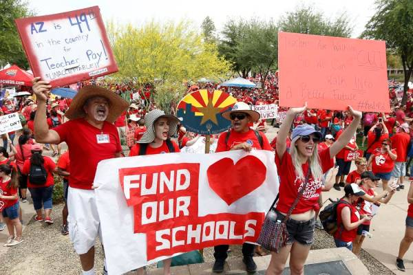 az teacher strike