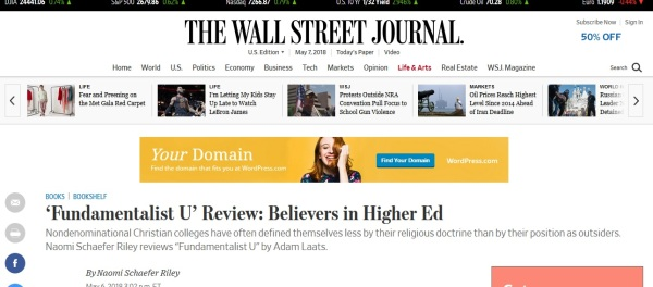 Riley WSJ review