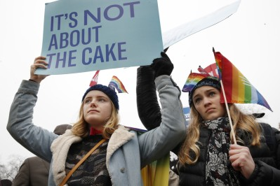 masterpiece cakeshop protest