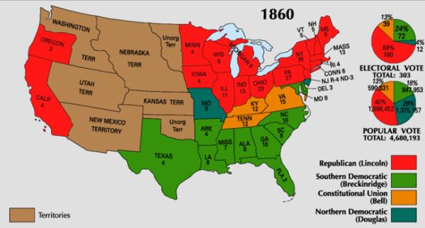 1860_Electoral_Map