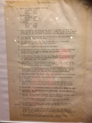 Marion COllege rules c 1946 1