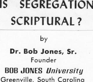 is segregation scriptural