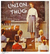 rockwell teacher union thug