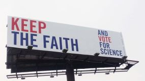 keep the faith vote for science