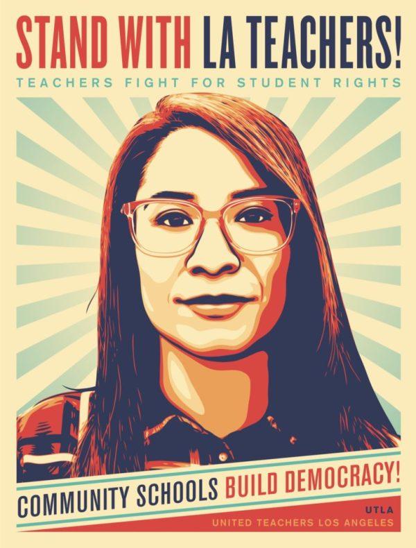 la teachers poster