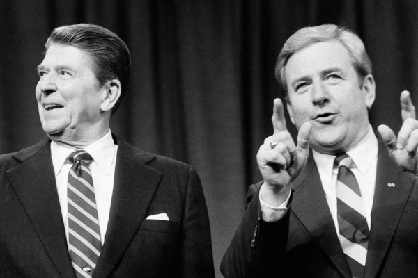 President Ronald Reagan and Rev. Jerry Falwell