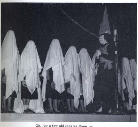 BJU VINTAGE 1954 white robes