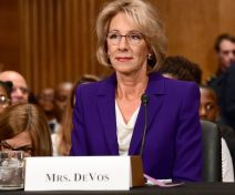 Betsy DeVos Confirmation Hearing, Washington DC, USA - 17 Jan 2017