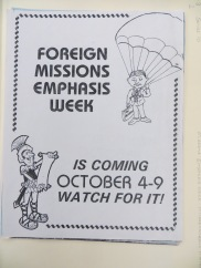 missions flier