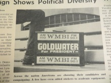 1964 WMBI and Goldwater