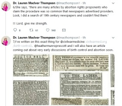 Dr Thompson Tweet