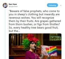Ken Ham drag school