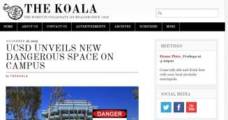 koala dangerous space