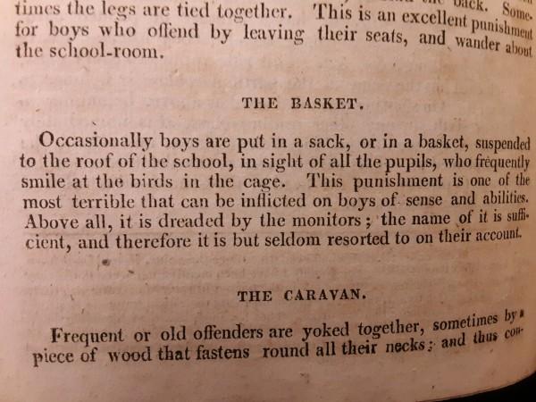 1810 punishment the basket