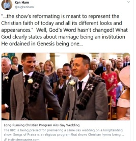 ken ham gay wedding