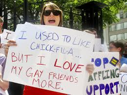 chik fil a protest