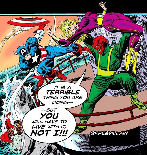 president supervillain