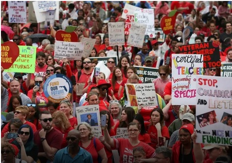 fl teacher march