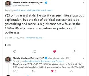natalia on Trump