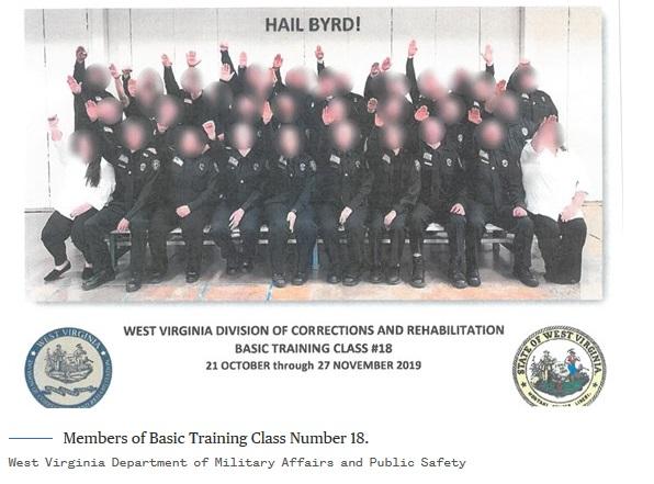 WV corrections Hitler salute